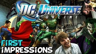 "DC Universe Online (DCUO) First Impressions "" Is It Worth Playing?"""