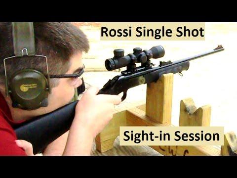Rossi Single-Shot 22 Rifle Sight-In (pt. 2: Scope)