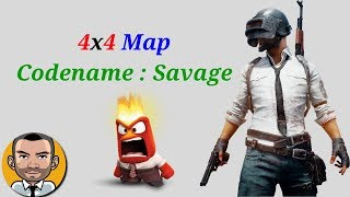 PUBG 4x4 Map Codename : Savage Gameplay & First Impressions