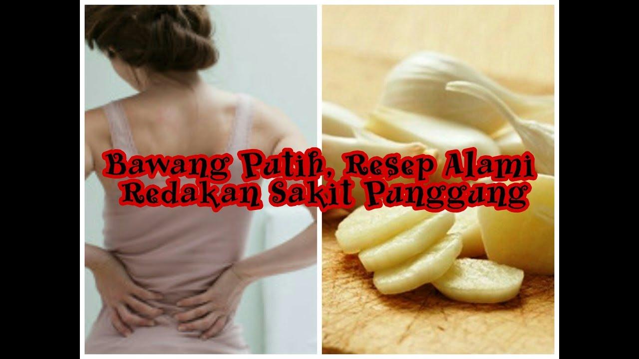 Hasil gambar untuk menghilangkan nyeri punggung dengan bawang putih