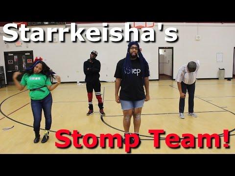 Starrkeishas Stomp Team!  Random Structure TV
