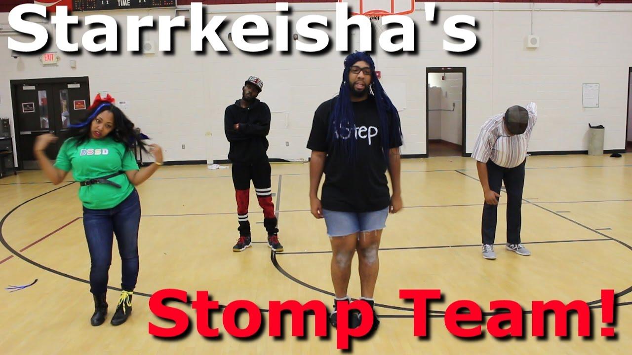 Download Starrkeisha's Stomp Team!   Random Structure TV
