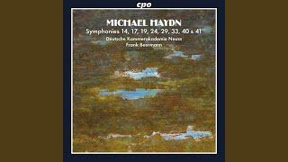Symphony No. 33 in B-Flat Major, P. 24: IV. Finale: Presto ma non troppo