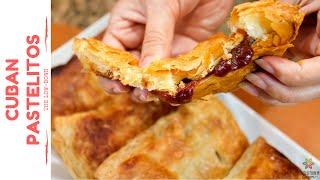 Cuban Pastelitos (Pastries)  Vegan Recipe #94