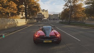 Forza Horizon 4 - Pagani Huayra Gameplay