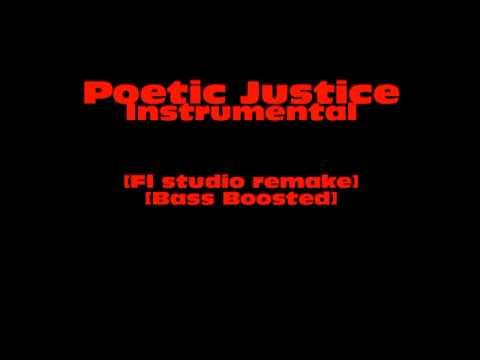 Kendrick Lamar - Poetic Justice instrumental [Bass boosted] [Fl Studio Remake] [HD]