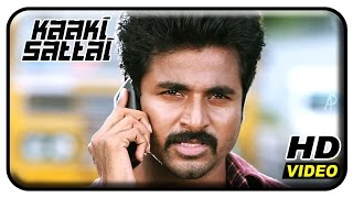 Kaaki Sattai Tamil Movie Scenes | Sivakarthikeyan Punch Dialogue | Sri Divya | Prabhu