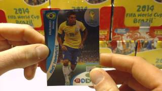 Box Break / Review - Adrenalyn XL Fifa World Cup 2014