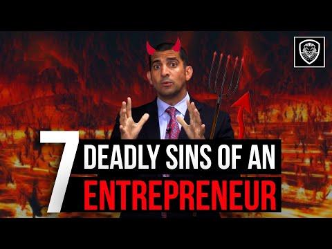 7 Deadly Sins of an Entrepreneur