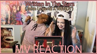 'WRITTEN IN THE STARS' by JOHN LEGEND x WENDY | MV REACTION | KPJAW mp3