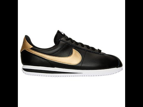 9e00c9f19a34bf Nike Cortez Basic Leather SE Review - YouTube