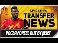 POGBA or MOURINHO TO LEAVE MAN UTD! Man Utd Transfer News