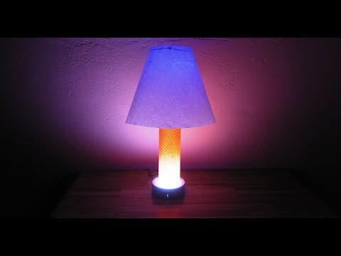 How to make Color Night Lamp using Paper | DIY Light