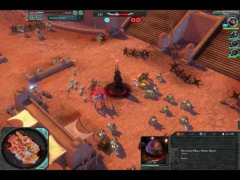 Warhammer 40,000 Dawn of War II Multiplayer Ranked Game PART 1 |