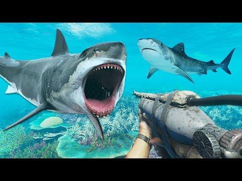SHARK ATTACK!! (Stranded Deep)