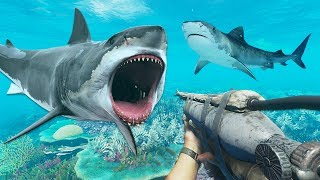 SHARK ATTACK!! (Stranded Deep)