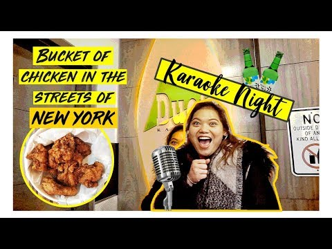 KoreaTown + Karaoke night at NYC!