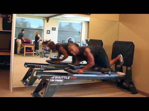Lorenzo Booker at Jeff Nicholl Physical Therapy on Shuffle3