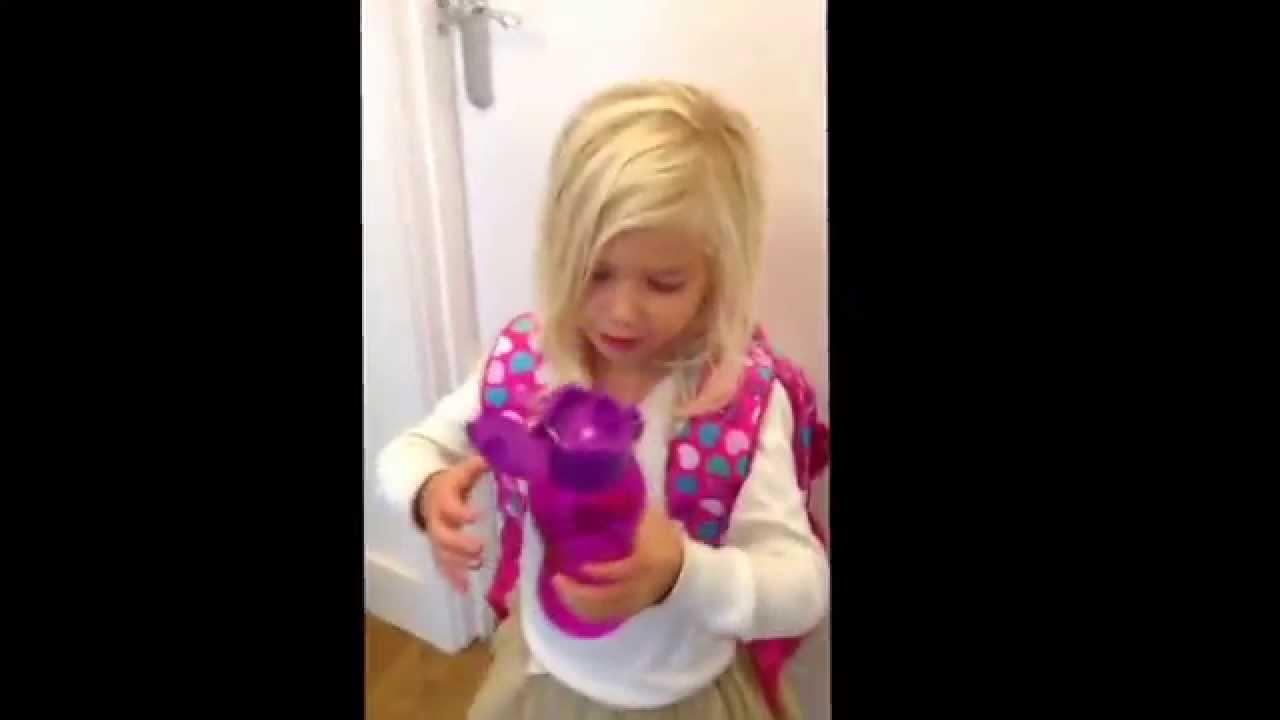 Smiggle Squishy Water Bottle : Smiggle zebra drink bottle - YouTube