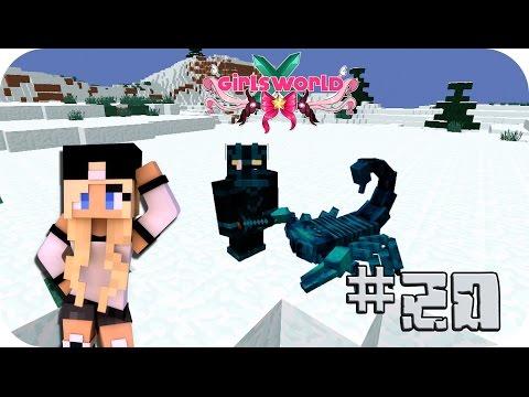 Equipándome para defender a mi esposa!! - Girl's World Ep 20 Minecraft