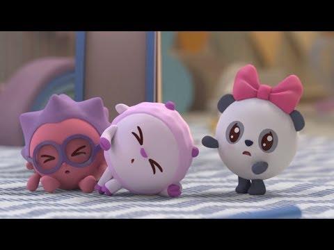Малышарики - Пазлик (Новая серия 107) Развивающие мультики для самых маленьких