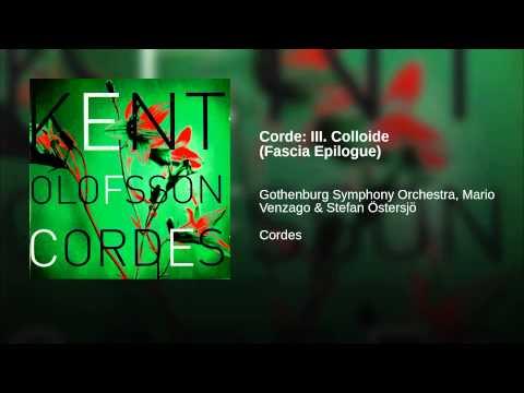 Corde: III. Colloide (Fascia Epilogue)