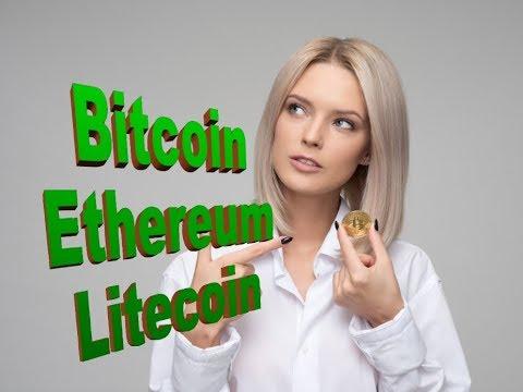 Cryptocurrencies including bitcoin ethereum