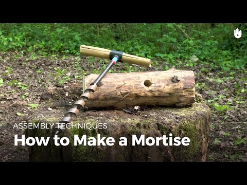 how-to-make-a-mortise-|-bushcraft