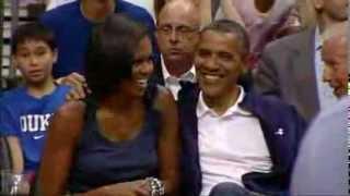 The Obama's Presidential Smooch!