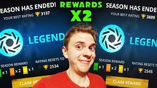 Shadow Fight 3. Getting 2 LEGEND REWARD. End of Season Rewards in Legend League.