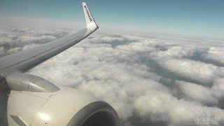Ryanair FR1203 Palma De Mallorca (PMI) - London Stansted (STN) *FULL FLIGHT* Boeing 737-800 EI-EMA