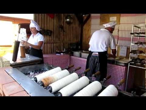 Trdelník - Street food in Slovakia