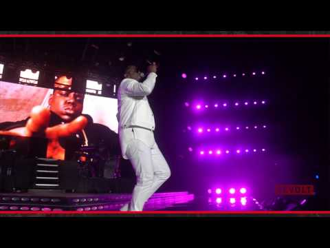 Puff Daddy pays tribute to Biggie at Essence Fest