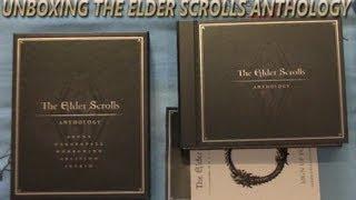 Unboxing de The Elder Scrolls Anthology PC