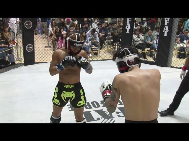 WFAT VIII   Kickboxing   Daichi vs Haga