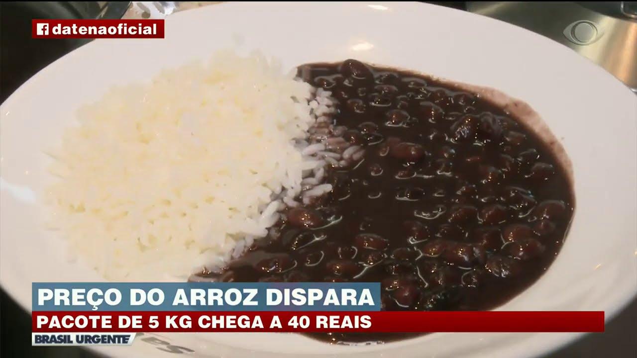 ARROZ A 40 REAIS: PREÇO DO PACOTE ASSUSTA CONSUMIDORES | BRASIL URGENTE