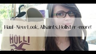 Haul - Hollister, New Look, Allsaints + more! Thumbnail