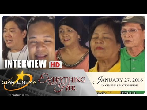Interview | 'Everything About Her' | Ms. Vilma Santos | Mataray pero may puso | Star Cinema
