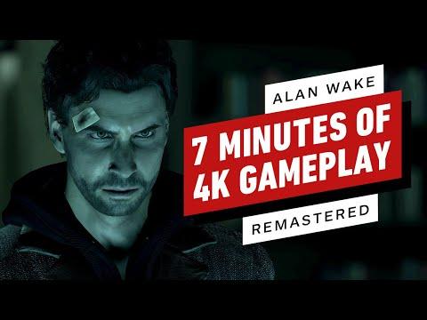 Alan Wake Remastered: 7 Minutes of Gameplay (4K)