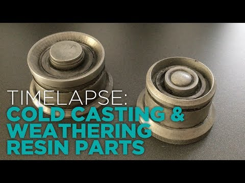 Cold Casting & Weathering Resin Props