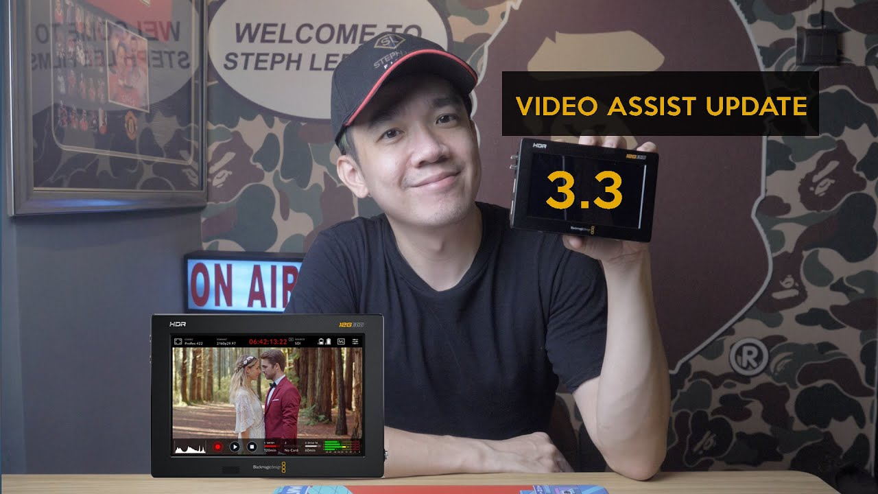 Download It is TIME to buy the Video Assist - Update 3.3 from Blackmagic Design