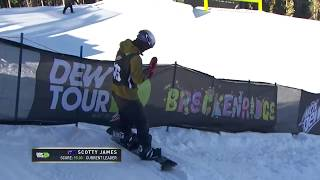 Scotty James' Second Place Run - 2017 Dew Tour Men's Superpipe Finals スコッティジェームス 検索動画 11