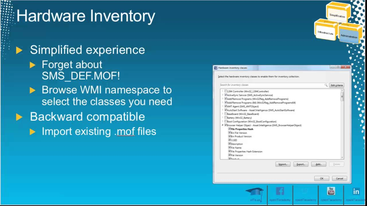 SCCM 2012 - Introduction to Hardware Inventory (tr) - YouTube