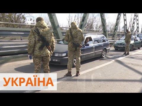 Задержанных на Закарпатье