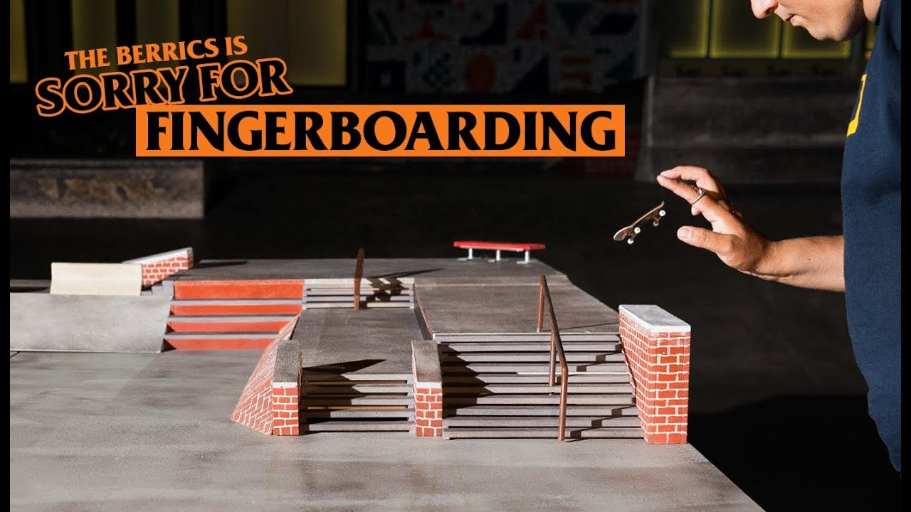 size 40 9b2b4 c4514 The Berrics Is Sorry (For Fingerboarding)