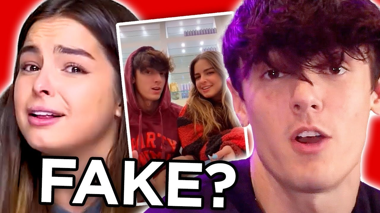 Tik Tok star Bryce Hall REACTS to FAKE relationship with Addison Rae & SHADES Ariana Grande