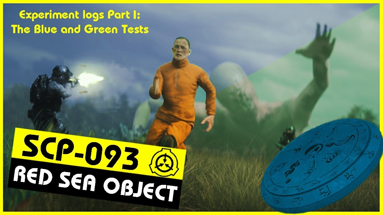 SCP-093 | Experiment logs Part I: The Blue and Green Tests