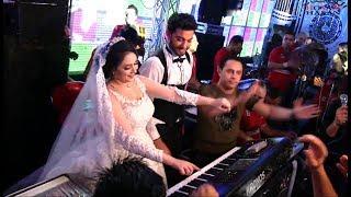 العروسه بتعزف والفرح ولع مع الكابيتانو حسام حسن