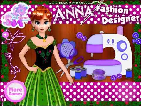 Anna Fashion Designer Game เกมส์ออกแบบชุดแฟชั่นให้เจ้าหญิงแอนนา