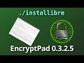 Encrypt and decrypt text with EncryptPad 0.3.2.5